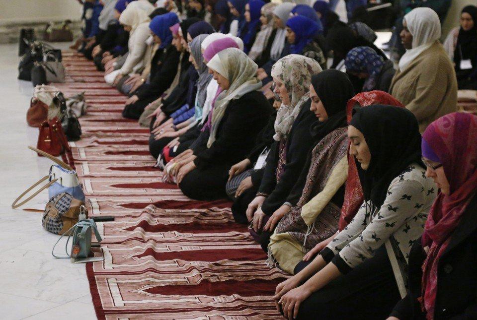 Women in Mosque