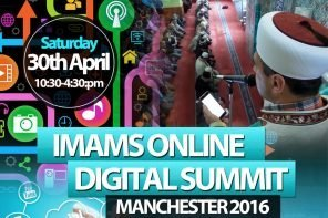 Imams Online Digital Summit (Manchester) 30th April