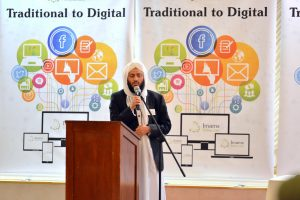 Rufiq Sufi from the Lancashire Council of Mosques, our chief partners in bringing together the Imams Online Digital Summit.