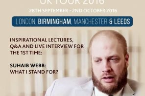 Event: The Muslim Extremist with Imam Suhaib Webb