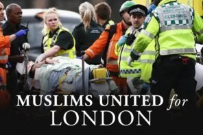 British Muslims raise more than £3'000 for the victims and families of the London attack
