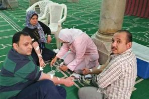 Egyptian Muslims Donate Blood to Church Blast Victims