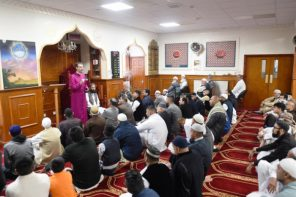 Burnley Mosque Welcomes Bishop For Eid Celebrations