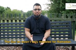 Ramadan Reminders 2017 – Day 29: Carrying on Post-Ramadan
