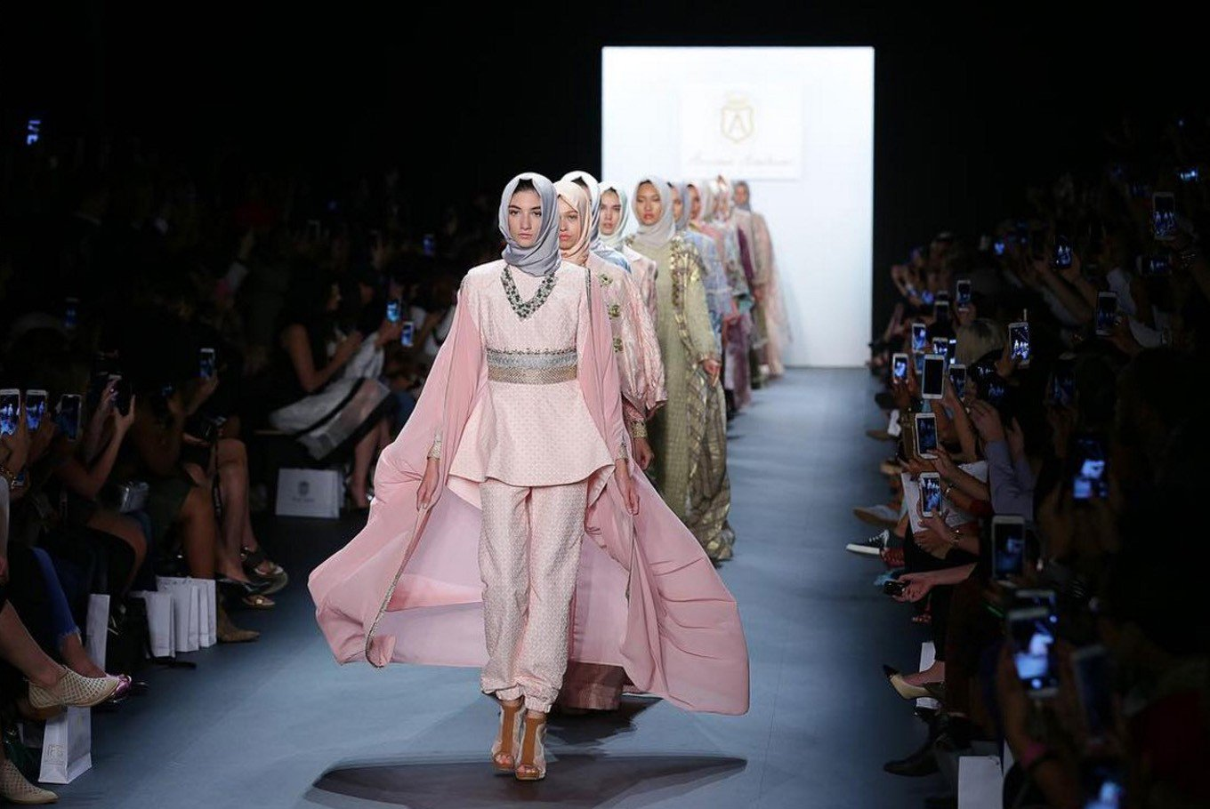 Muslim Women S Fashion Runway